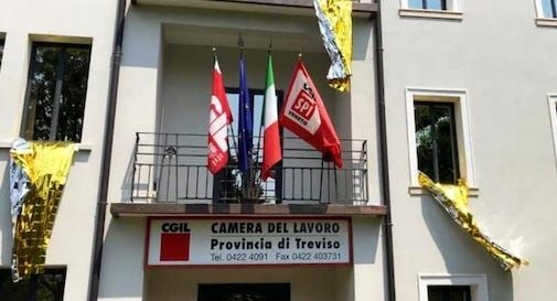 sede Cgil Treviso