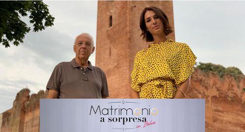 L'assessore Gianfranco Giovine e la conduttrice Michelle Carpente
