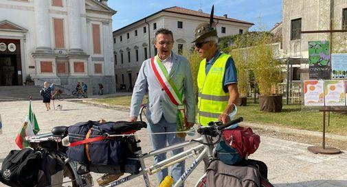 Il sindaco Stefano Marcon con Aldo Serraiotto