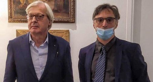 Vittorio Sgarbi e Andrea Lucchetta
