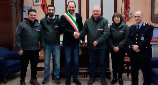 il sindaco Bortolato riceve le guardie zoofile