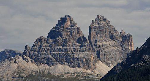 Un boato, dal Sorapis si stacca un'altra parete di roccia