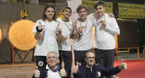 da sinistra: Camellato, Cecchetto, Luzza, Fedalto, Gobbo, Brugnaro