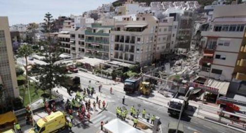 Crollo di una palazzina a Tenerife, due italiani dispersi e uno ferito