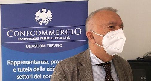 Il commissario di Unascom Confcommercio della provincia di Treviso Tullio Nunzi