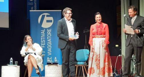 Premiazione di Angelo Carotenuto, vincitore Premio Zanetti