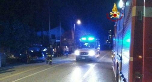 Schianto a Cimadolmo, nove feriti