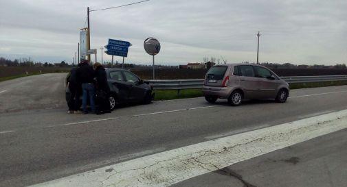 l'incidente di mercoledì lungo la regionale Postumia