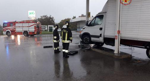 l'incidente di questa mattina a Oderzo