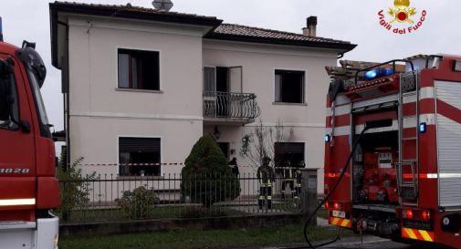 la casa dell'incendio