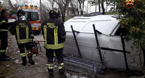 l'incidente di oggi a Lughignano