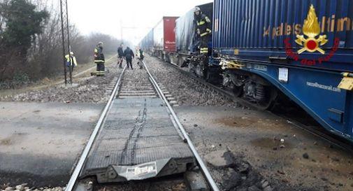 Lo stesso treno deraglia due volte in pochi giorni: altro incidente dopo Vedelago