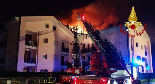 l'incendio a Gorgo