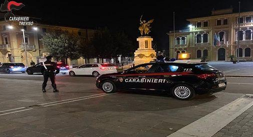 Carabinieri a Mogliano