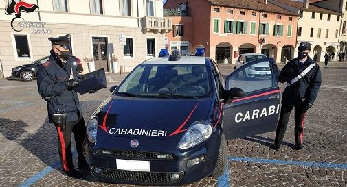 Carabinieri a Castelfranco
