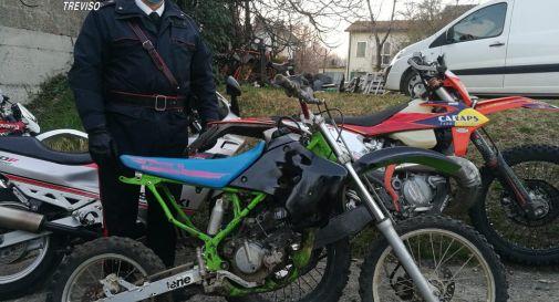 la moto rubata