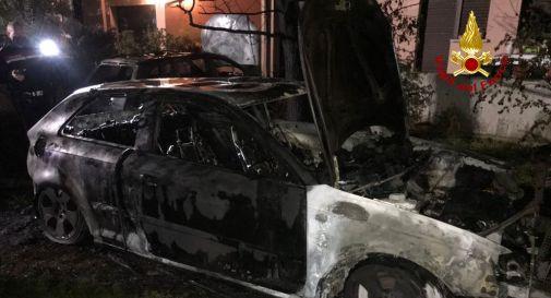 le auto bruciate
