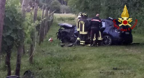 Incidente a Ogliano martedì sera: due feriti