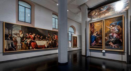 Gallerie dell'Accademia - saloni Selva-Lazzari