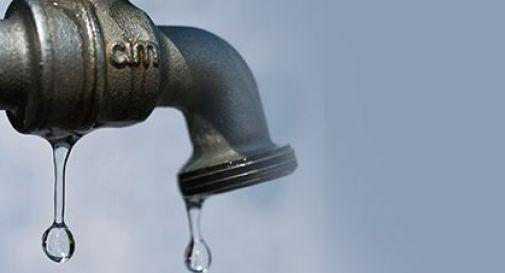 Vietato l'utilizzo di acqua emunta da falda nella zona di via Rosmini