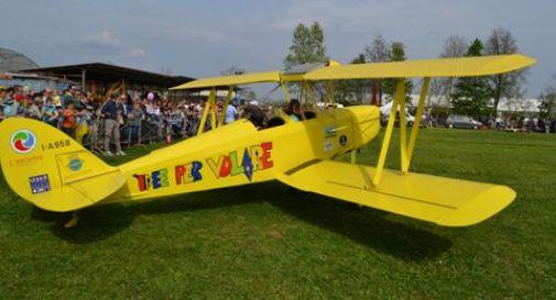 In mostra biplano costruito da utenti cooperativa sociale oggi treviso news il quotidiano - I giardini del sole castelfranco veneto ...