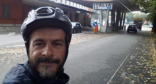 3000 chilometri in bici in solitaria