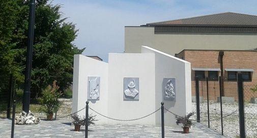 il monumento a Campocroce (foto facebook)