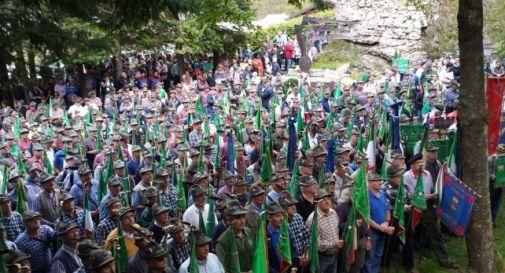 Alpini, domenica raduno al Bosco delle Penne Mozze
