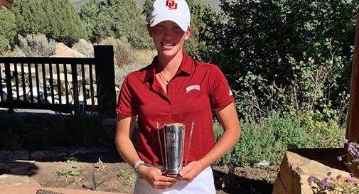 La castellana Anna Zanusso vince la Golfweek Conference Challenge negli Usa