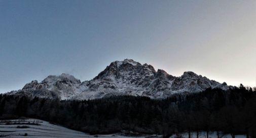 Nevicata sulle Dolomiti venete, Cortina imbiancata