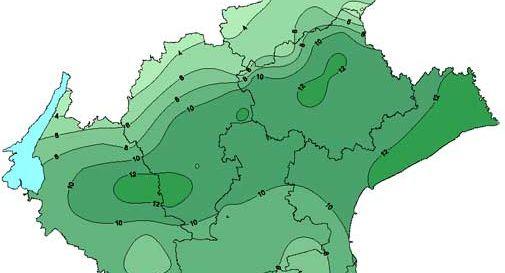 Caldo da record a dicembre: in Veneto temperature 10 gradi superiori alla norma