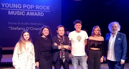Da sinistra: Alessia Boccuto, Cristiana Antoniani, Roby Facchinetti, Marco Falagiani, Francesca Pagot, Diego Basso.
