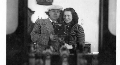 Leopold Studeny e Charlotte Singer, coppia di internati che aprì uno studio fotografico ad Asolo