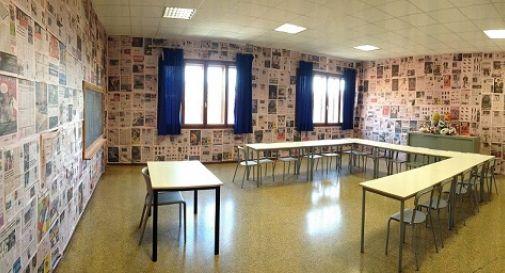 Un' Aula Gazzetta dentro il Liceo Sportivo