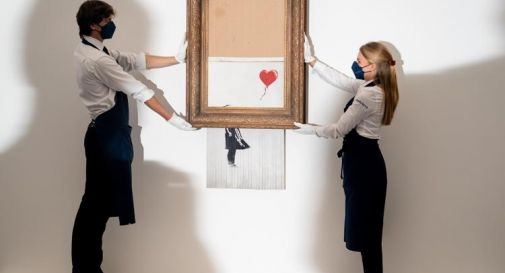 Banksy da record, opera venduta a 25 milioni di dollari