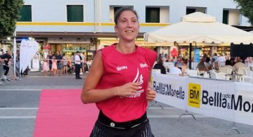 La pallavolista Cristina Barcellini in corsa alla Corri in rosa di domenica 17 novembre