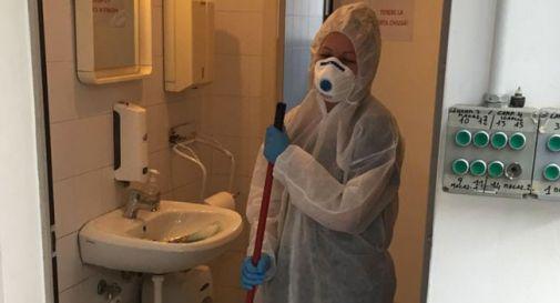 Il lavoro in trincea per le operatrici delle pulizie