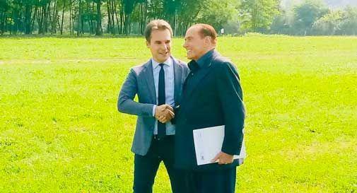 Berlusconi a Pieve di Soligo, arrivato in elicottero alla Nostra Famiglia