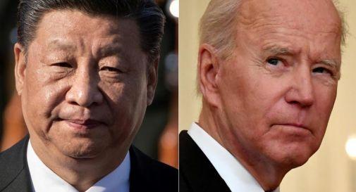 Usa-Cina, telefonata tra Biden e Xi: