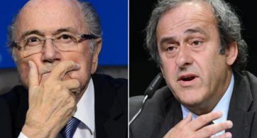 Scandalo Fifa, Blatter e Platini squalificati per 8 anni