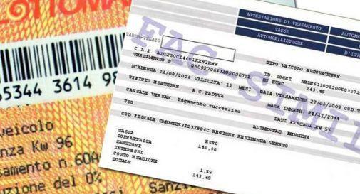 Slitta il pagamento del bollo dell'auto in Veneto