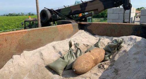 Disinnescata bomba di 250 Kg della seconda guerra mondiale sulla ferrovia