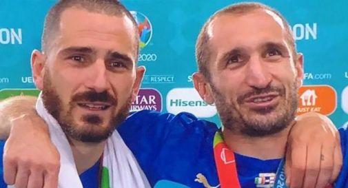 Bonucci e Chiellini: