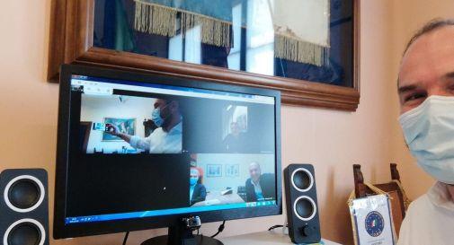 Davide Bortolato in videoconferenza