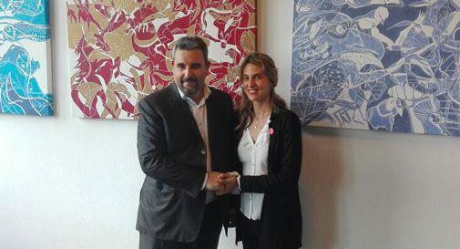 Il ministro Madia a Conegliano per sostenere Bortoluzzi