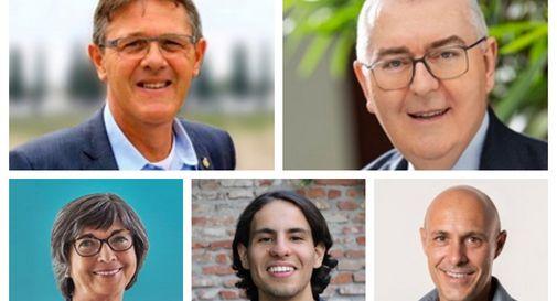 I commenti dei 5 candidati a sindaco tra esultanze e delusioni