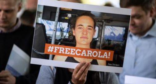 Carola è libera