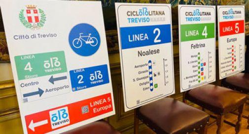 Potenziata la mobilità green a Treviso: 13 linee per 32 km ciclabili