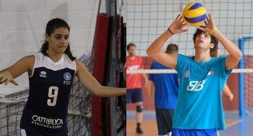 Chiara Cecconi e Lorenzo Cavasin