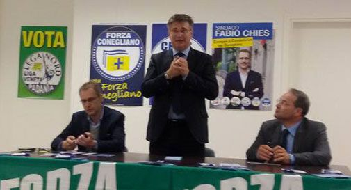 Conegliano, il candidato del centro destra Chies:
